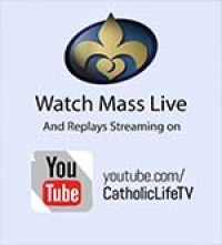 Watch Mass Live on YouTube and Facebook