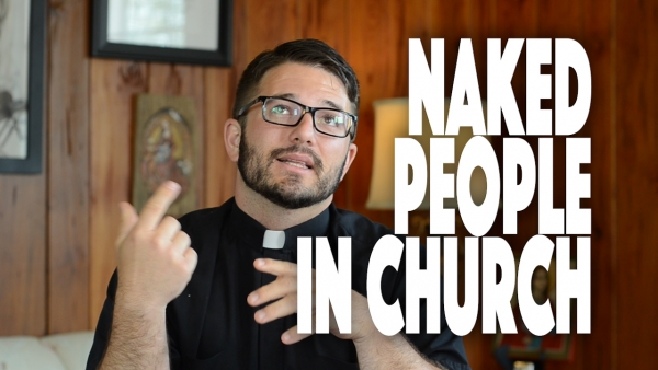 Naked People in Church